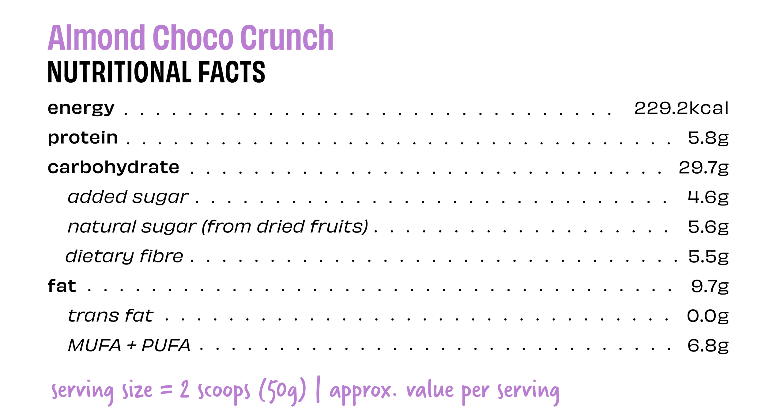 acc_acc nutritional facts